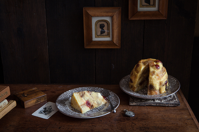 Cabinet Pudding – Or what to do with stale cake and booze