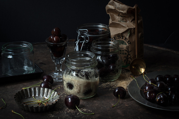 Cherry brandy… the first step towards winter
