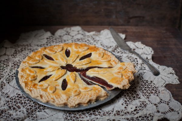 Quince tart and our workshop in Dorset