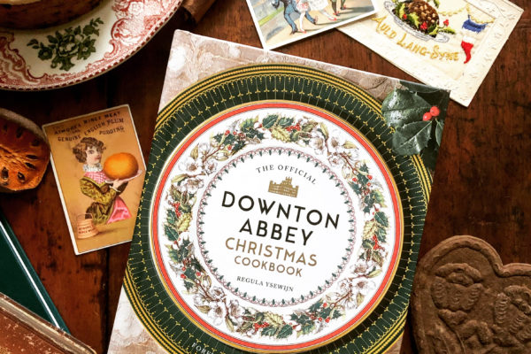 'The Downton Abbey Christmas Cookbook' my new book