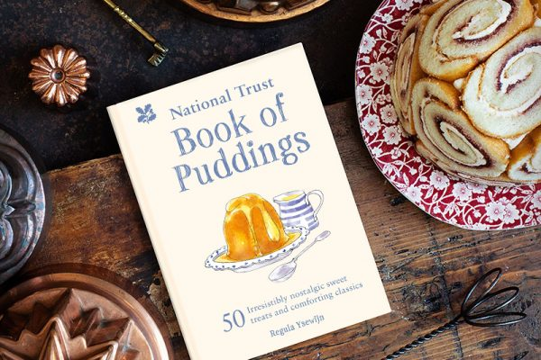 Figgy Pudding for my 'National Trust Book of Puddings'